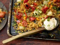 Baked Vegetable Rice recipe