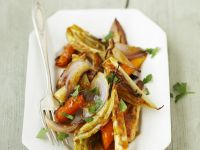 Baked Vegetables with Cinnamon recipe