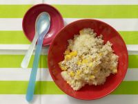 Banana-Almond Porridge with Bulgur recipe