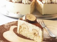 Banana Chocolate Cream Cake recipe