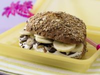 Banana-Cream Cheese Sandwich recipe