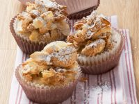 Banana Muffins with Amaretti Topping recipe