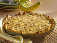 Sliced Banana Pie recipe