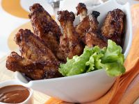 Barbecue Poultry Flappers recipe