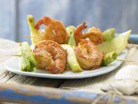 Barbecued Shrimp Skewers recipe