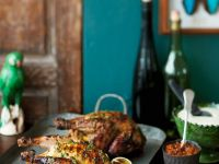 Barbecued Spiced Guinea Fowl recipe