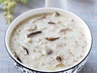 Barley and Mushroom Soup recipe