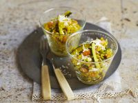 Barley Risotto with Vegetables recipe