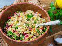 Barley Salad with Pomegranate recipe
