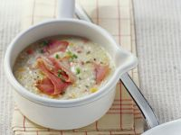 Barley Soup with Smoked Meat recipe