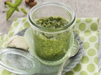 Basil and Nut Pasta Sauce recipe