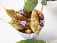 Batter Fried Sage Leaves recipe