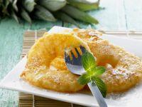 Battered and Fried Pineapple recipe