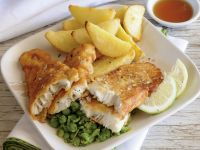 Battered Fish Supper recipe