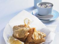 Battered Fish with Remoulade recipe