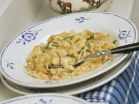 Bavarian Cheese-Topped Spaetzle recipe