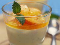 Bavarian Cream with Apricots recipe