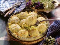 Bavarian Dumpling Gratin recipe