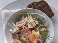 Bavarian-style Sausage Salad with Apple recipe