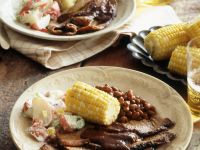 BBQ Beef with Corn recipe