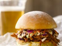 BBQ Pork and Coleslaw Rolls recipe