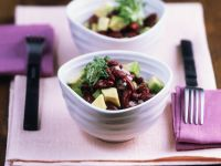 Bean and Avocado Bowl recipe
