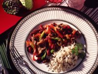 Bean and Pepper Stir-Fry recipe