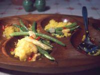 Bean and Saffron Couscous recipe