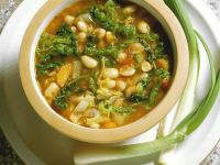 Bean and Savoy Cabbage Soup recipe