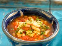 Bean and Veggie Broth recipe