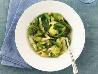 Bean, Pasta, and Leaf Broth recipe