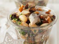 Bean Salad with Herring recipe