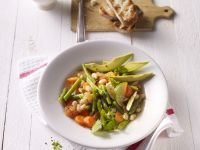 Bean Soup with Avocado and Lime recipe