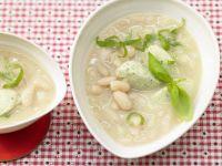 Bean Soup with Dumplings recipe