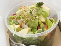 Bean Sprout and Avocado Bowl recipe