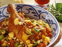 Bean Stew with Chicken recipe