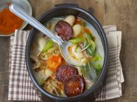 White Bean and Pork Broth recipe