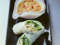 Beansprout Spring Rolls recipe