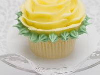 Beautiful Lemon Rose Water Cupcake recipe