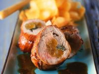 Beef and Apricot Roulades recipe