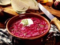 Beef and Beet Soup