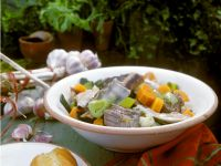 Beef and Chicken with Vegetables and Broth recipe