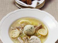 Beef and Dumpling Soup recipe