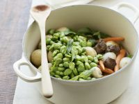 Beef and Fava Bean Stew with Mint recipe