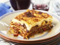 Beef and Pasta Layer Bake recipe