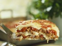 Beef and Pasta Layered Bake recipe