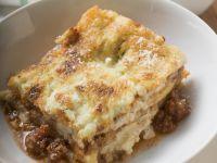 Beef and Pork Lasagna recipe