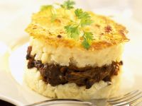Beef and Potato Timbale