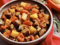 Beef and Pumpkin Goulash recipe