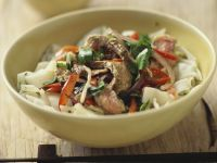 Beef and Rice Noodle Salad recipe